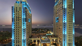 Habtoor Grand beach